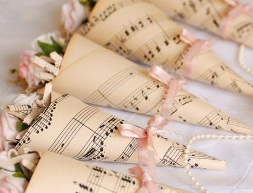 Matrimonio a tema musica