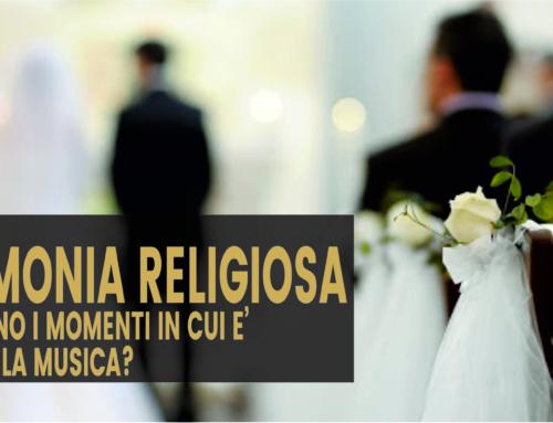 Cerimonia religiosa. Quali sono i momenti in cui è prevista la musica?